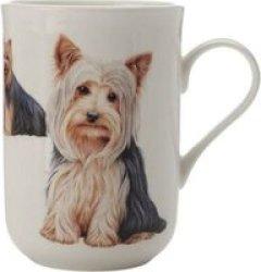 Maxwell & Williams Cashmere Pets Dog Yorkshire Terrier Mug 300ML
