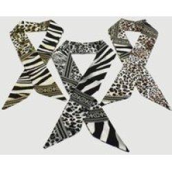 Joy Collectables Multi Colour Jungle Stripe Neckerchief