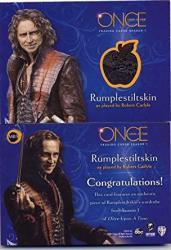 2014 Once Upon A Time Season 1 Trading Card Wardrobe M03 Rumplestiltskin