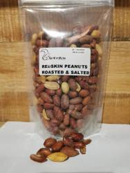 Giant Redskin Peanuts - 500G Salted