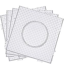 Maxdot 5 Mm Large Square Fuse Beads Boards Clear Plastic