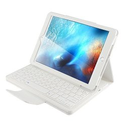 Peyou Ipad 9.7 Keyboard Case 2017 Ipad Pro 9.7 Keyboard Case Detachable Wireless Bluetooth Abs Keyboard With Magnetic Muti-angle Folio Pu Leather Case For