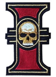 """J&C Family Owned J And C Family Owned Warhammer 40K Inquisition Emblem 3.5"""" Logo Symbol Embroidered Sew iron-on Patch"""