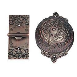 Adonai Hardware Belshazzar Brass Manual Old Fashion Door Bell Or Twist Door Bell Or Hand-turn Door Bell - Antique Copper