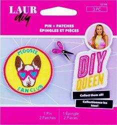 Laurdiy 18194 Pins & Patches Sweetie Pie Pink