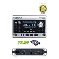 Boss Micro Br BR-80 Digital Recorder With A Free Patriot 32GB Sd Card And 1 Year Free Extended Warranty