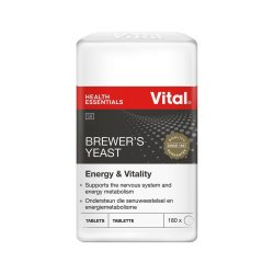 Vital Brewers Yeast 200 Tablets