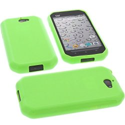 06d91b378e Foto-kontor Protective Case For Cat S30 Rubber Tpu Mobile Phone Cover Green