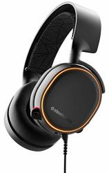 SteelSeries Arctis 5 - Gaming Headset - Rgb Illumination - Dts Headphone:x V2.0 Surround For PC And Playstation 4 - Black 2019 E