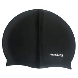 Medley - Silicone Caps Black