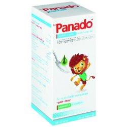 Panado Paediatric Syrup Alcohol & Sugar Free 100ML