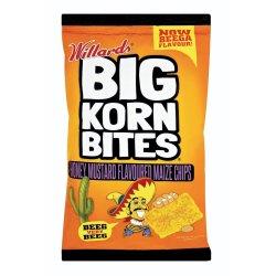 Willards - Chips Big Korn Bites Honey Mustard 120G