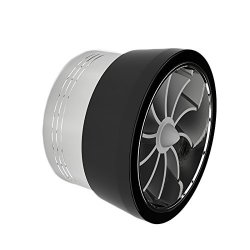 Spec-D Tuning TFAN-TP01A-BK Spec-d Turbo Fan Black