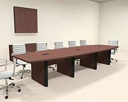 Modern Boat Shaped 14' Feet Conference Table OF-CON-CP12