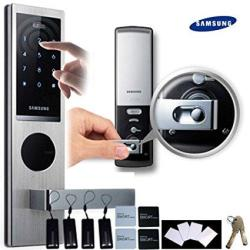 Samsung SHS-H630 New Version Of Samsung SHS-6020 Digital Door Lock Keyless  Touchpad Security Ezon + 4PCS Of Rfid Cards + 4PCS Of Key Tags + 4PCS Of St