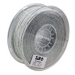 ZIRO 3D Printer Filament Pla 1.75MM Marble Color 1KG 2.2LBS - White