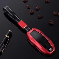 MonkeyJack 2pcs Blue Red Car Remote Key Fob Case Protector for Mazda
