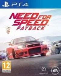 Need For Speed Payback PlayStation 4
