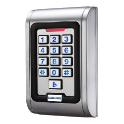 LockState LS-S100 Single Gang Vandal Resistant Proximity Reader And Keypad
