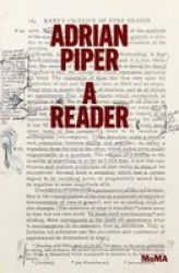 Adrian Piper: A Reader Paperback