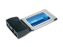 Sunix IEEE1394B A 1+2 Ports Cardbus