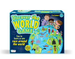 Fiesta Discover The World Game T2922 Free Shipping