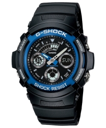 Casio AW-591-2ADR Men's G Shock Analog & Digital Watch