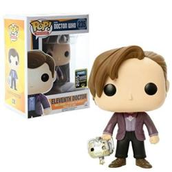 Funko Pop Sdcc 2015 Exclusive Doctor Who Eleventh Doctor With Cyberman Head Vinyl Action Figure 235
