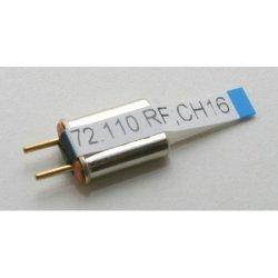 Hitec Receiver Crystal Ch 16 All D.c. 72MHZ Fm