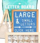 Felt Letter Board 10X10 Light Blue +690 Pre-cut Letters +cursive +upgraded Wooden Sorting Tray Letter Board With Letters Letters