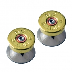 One Ps4 xbox Controller Brass Bullet Thumbstick Set