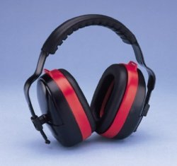 Elvex Anti Noise Muffs - 28 Decibels Model: HB-35