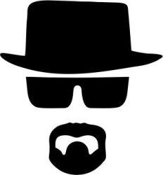 Mens Heisenberg T-Shirt White Xx-large