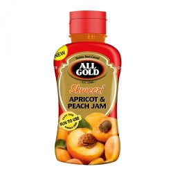All Gold Apricot And Peach Skweezi Jam 460G