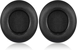 Kraken V2 Pro Earpads Jecobb Replacement Ear Cushion Cover With Protein Leather & Memory Foam For Razer V2 Pro Headphone Only Oval Black