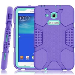big sale 78d36 c1388 Hocase Samsung Galaxy Tab E Lite 7.0 Case Galaxy Tab 3 Lite 7.0 Case Rugged  Heavy Duty Kids Proof Protective Case For SM-T110 | R | Other Adapters | ...