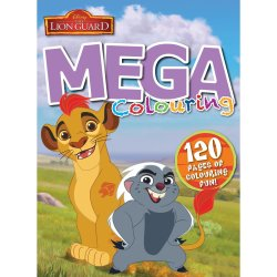 Lion King - Lion Guard 120PG Mega Col And Act Book