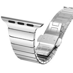 42MM Butterfly Band For Apple Watch - Silver