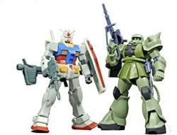 USA Bandai Hobby Gunpla Starter Set: Gundam Vs. Zaku II Bandai Hguc Action Figure