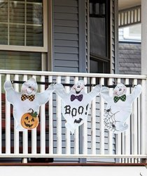 LTD Halloween Bunting Ghost