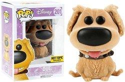 Funko Pop Disney Up Flocked Dug 201 Hot Topic Exclusive