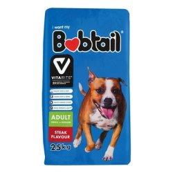 Bobtail - Natures Best Small - Medium Adult Steak 25KG
